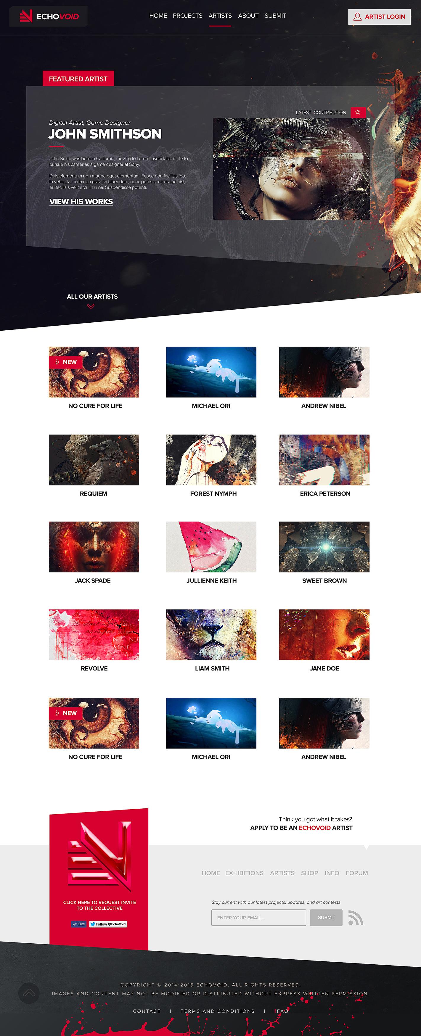EchoVoid-ArtistCommunity-Artists