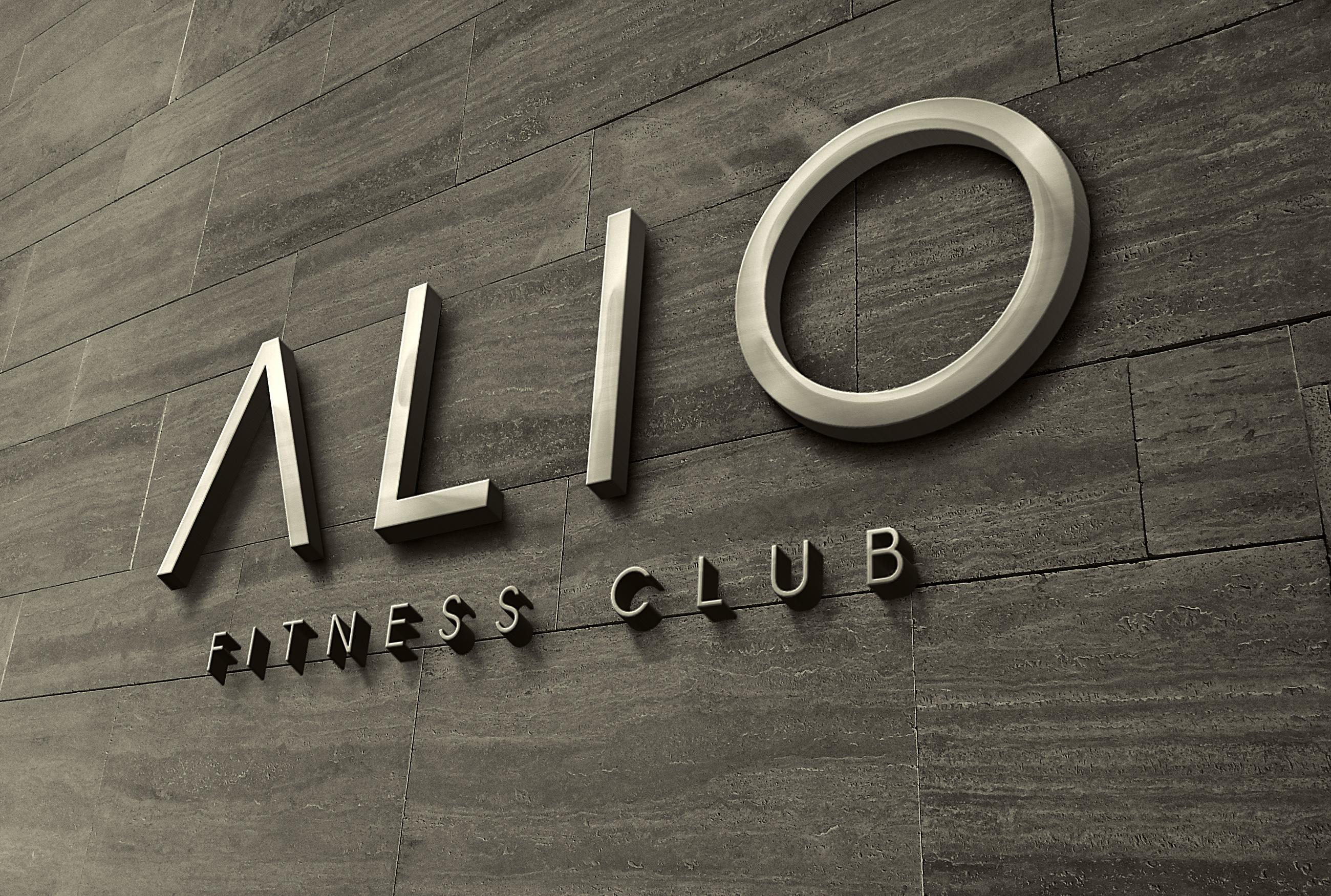 ALIO Fitness Club Logo Design