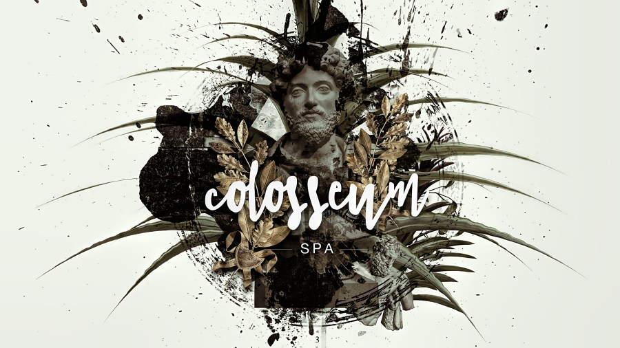 Colosseum Luxury Spa Branding Identity Design