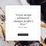 Quote about Great Design by Klangwelt