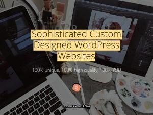 custom wordpress design websites