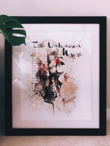 Unknown Muse V Art Print