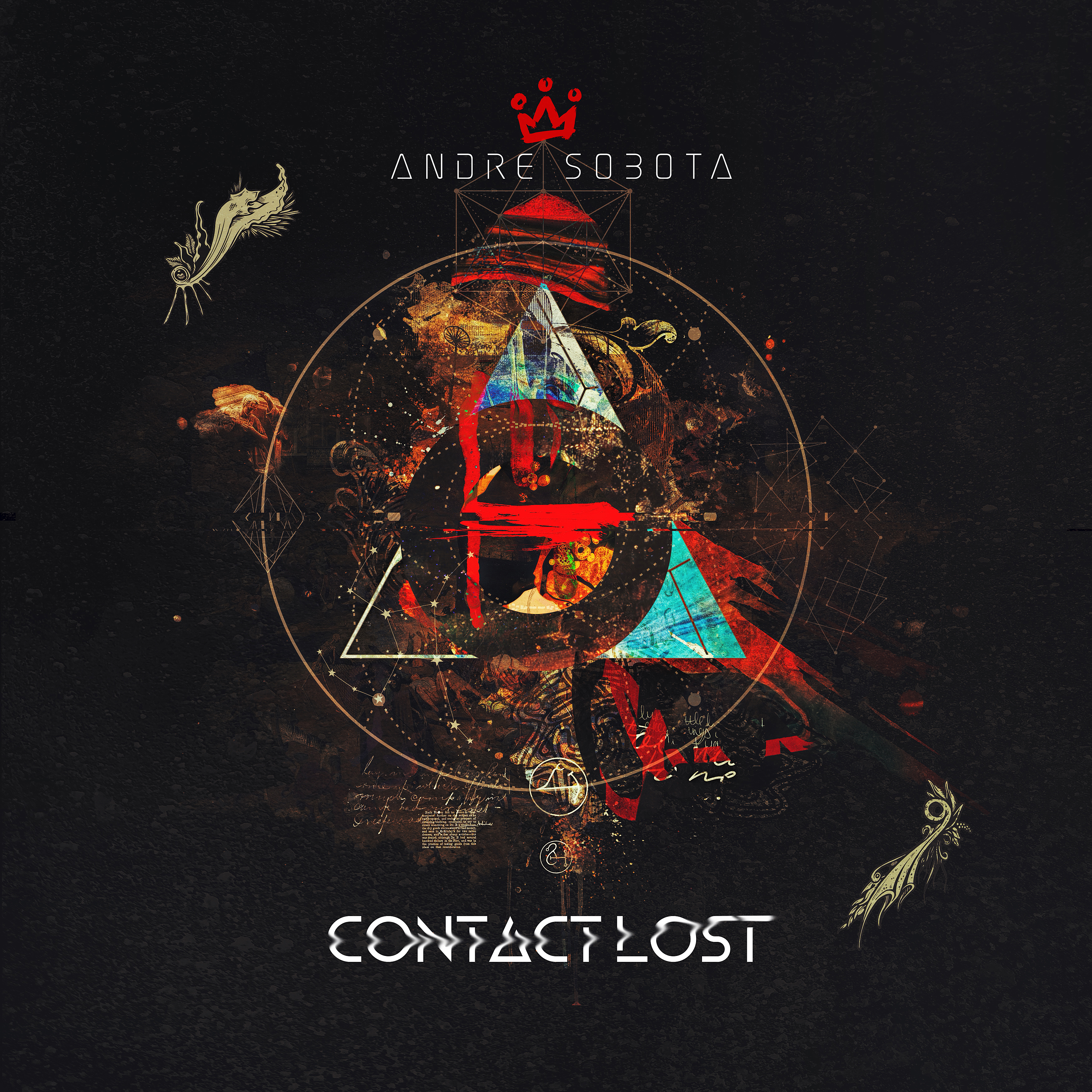 Andre Sobota Contact Lost EP Album Cover