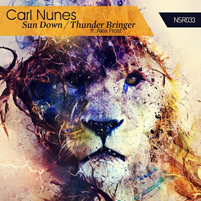 Carl Nunes Sun Down EP Album Artwork