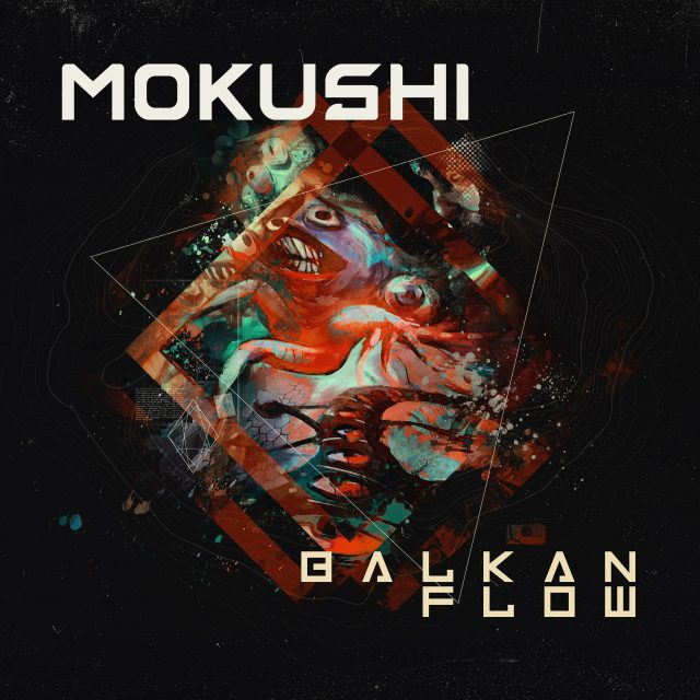 Mokushi Balkan Flow Album Art Cover Design
