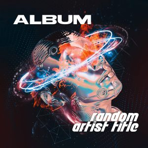 random artist title album art cover design KLANGWELT