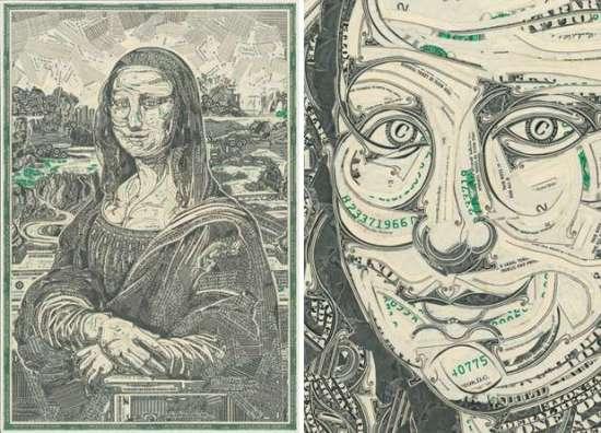 wagner_01 Artisti që krijon piktura me anë të parasë (VIDEO)