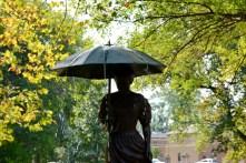The Umbrella Girl Fountain