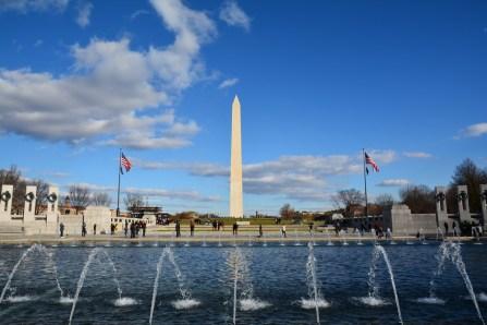 Blick auf Washington Memorial