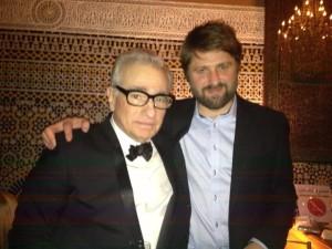Leikstjórarnir Martin Scorsese og Dagur Kári á góðri stund í Marrakesh.