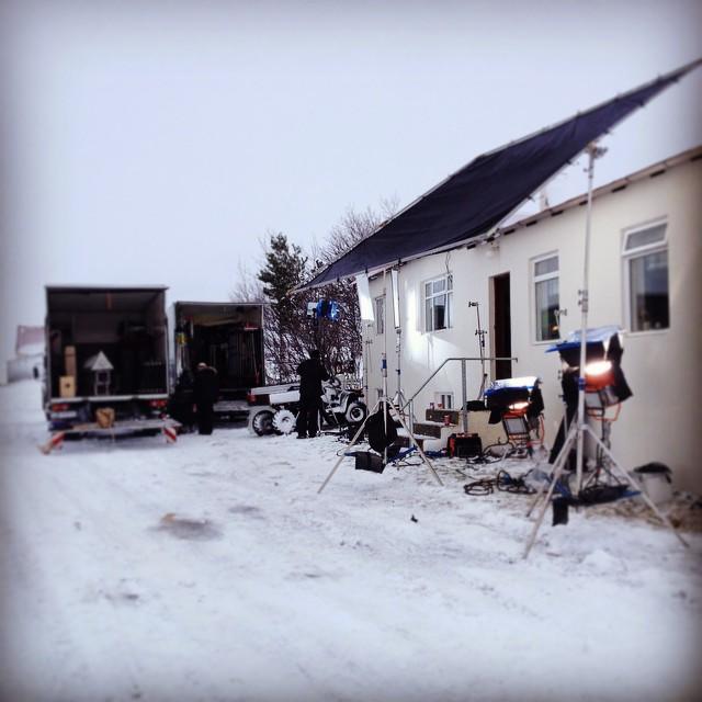 Vetrartökur á Hrútum hófust í dag á Norðurlandi.