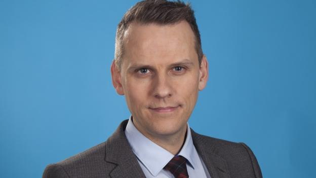 Magnús Geir Þórðarson útvarpsstjóri.