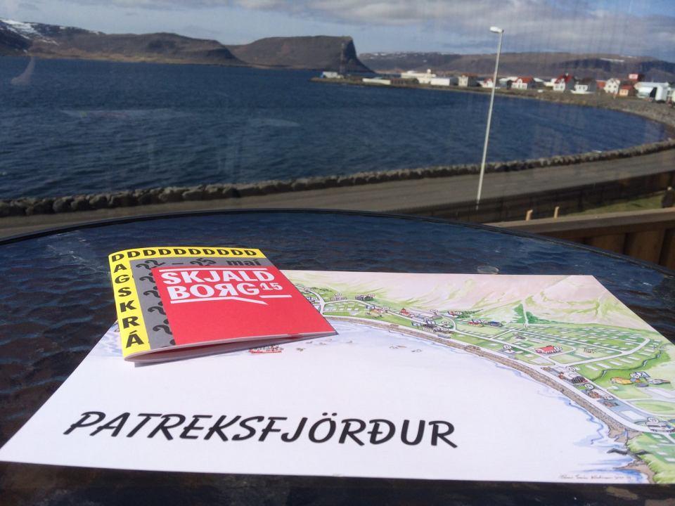 Allt klárt á Patró fyrir Skjaldborg.