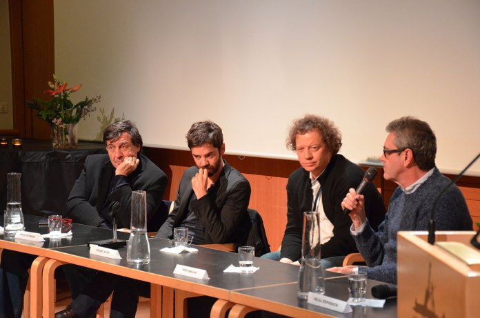 Frá vinstri: Giorgio Gossetti-Arnaud Gourmelen-Frederic Boyer-Piers Handling.