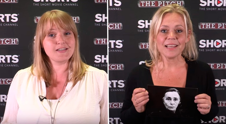 Eva Sigurðardóttir og Tinna Hrafnsdóttir.