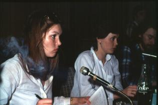 Kosningar 1978: Linda skrifta - Maríanna Friðjónsdóttir upptökustjóri - Karl Sigtryggsson á mixer.
