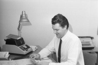 1966-68: Lúðvík Albertsson skrifstofustjóri.