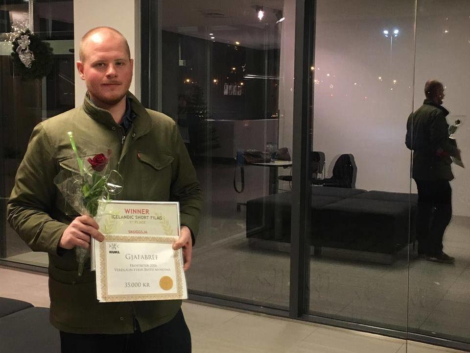 Magnús Ingvar Bjarnason Skuggjsá verðlaun