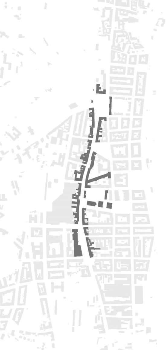 Linear center of Smichov - The Stefanikova Street