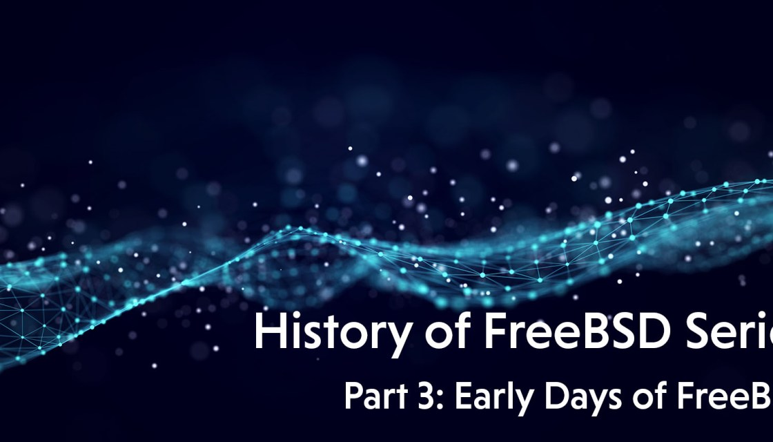history of freebsd