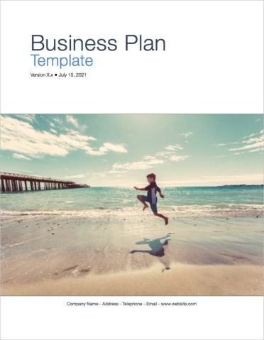 Business Plan Template  Apple iWork Pages and Numbers    Templates     Apple Business Plan Template coverpage