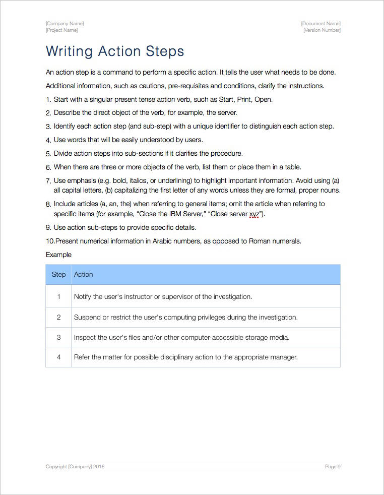 SOP-Template-Apple-iWork-Pages-Tutorial-Writing-Action-Steps