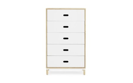 Kabino-normann-copenhagen-sideboard-5drawer-white-2