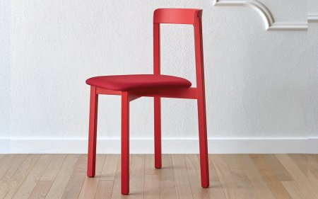 Alma red chair miniforms