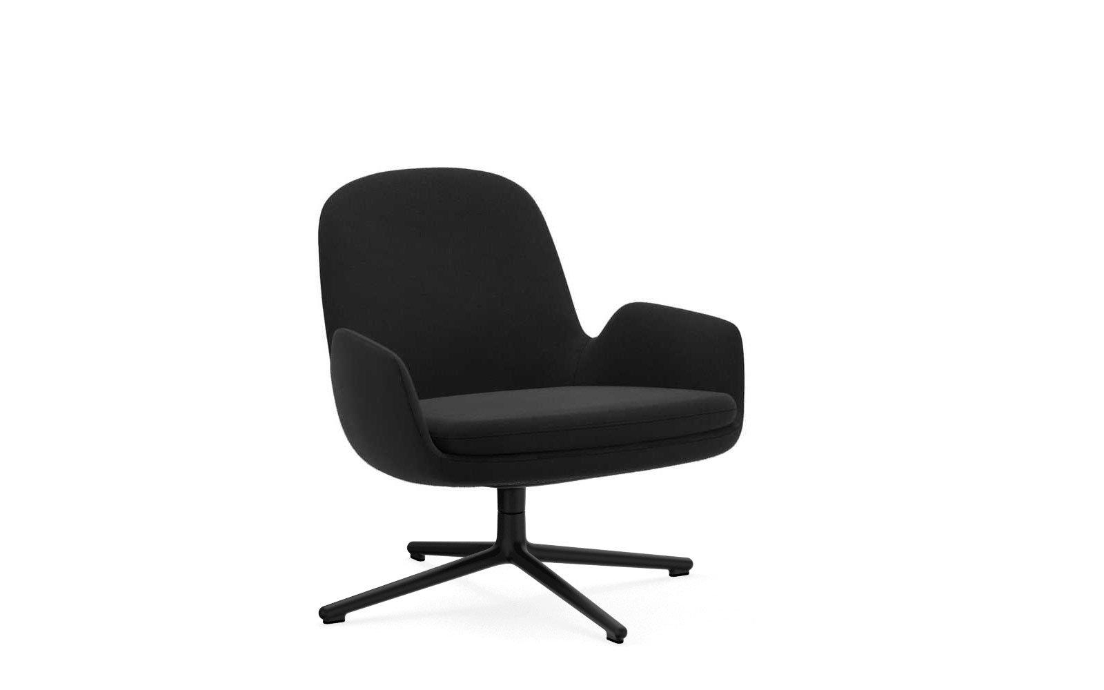 Phenomenal Era Low Lounge Chair With Swivel Base Ibusinesslaw Wood Chair Design Ideas Ibusinesslaworg