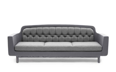 Onkel Sofa 3 Seater light grey normann copenhagen