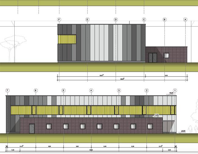 Bauantrag für große Sporthalle gestellt, aber...