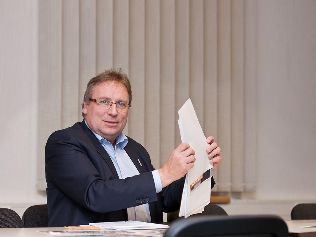 """""""Für den Tritt aufs Gaspedal entschieden"""""""