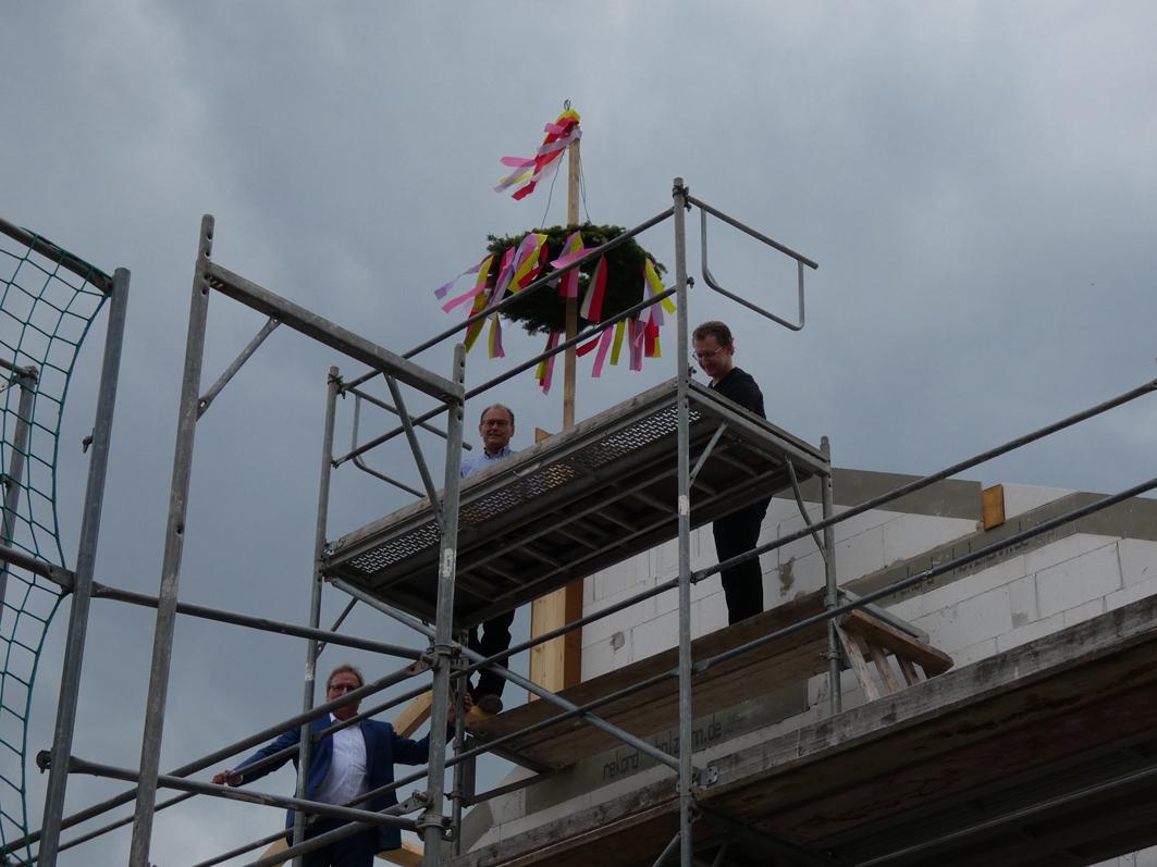 HaseWohnbau: Richtfest in Kettenkamp