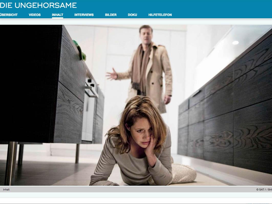 """Bis 11. März online: Der Film """"Die Ungehorsame"""""""