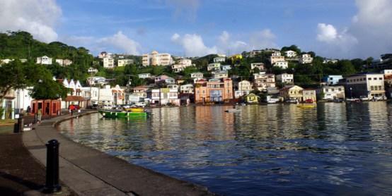 ... sind wir in Grenada angekommen ...