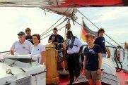 Hafeneinfahrt Grenada mit Lotsenunterstützung