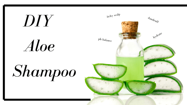 DIY Aloe Shampoo