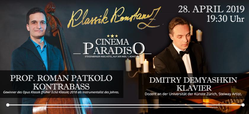 CINEMA PARADISO am 28. April 2019