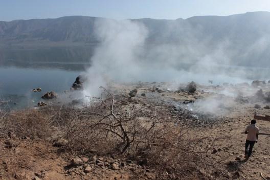 Geysers at Lake Bogoria, Kenya.