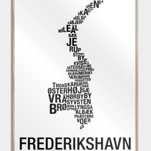 Frederikshavn plakat - By plakat