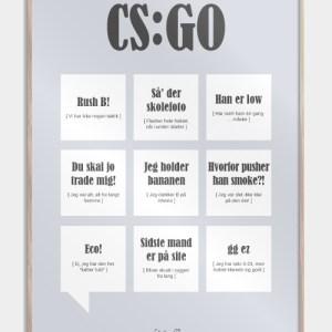 CS:GO plakat