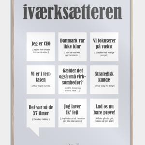 Iværksætteren plakat