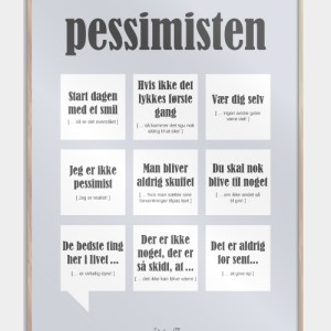Pessimisten plakat