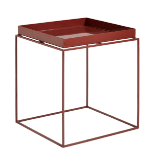 HAY Tray Table - 40x40cm - Chocolate