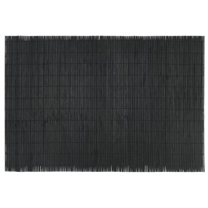Dækkeserviet bambus sort - Ib Laursen