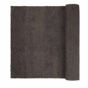 BROSTE COPENHAGEN rektangulær Arn gulvtæppe - brun bomuld og jute (200x140)