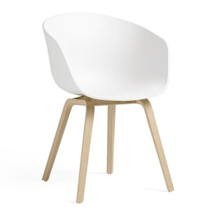 HAY - ABOUT A CHAIR (AAC22) - Hvid - Matlakeret Eg