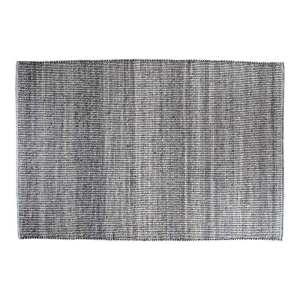 HOUSE NORDIC Ohio gulvtæppe - gråt/lyseblåt stof, rektangulær (200x300)