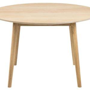 Nagano spisebord - eg, rundt (Ø:120)