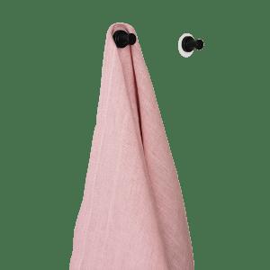 Økologisk hørviskestykke - Rosa